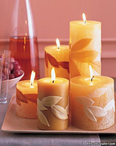 Свечи своими руками для мамы