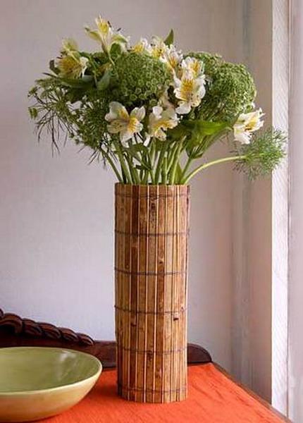 Как сделать вазу для цветов ваза