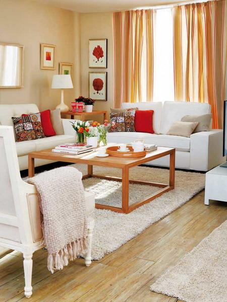 3 6 - Como decorar un salon en forma de l ...