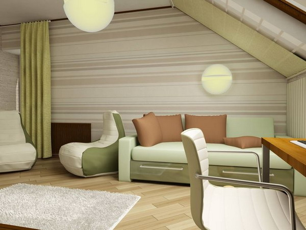"""6 проектов детской комнаты в мансарде от компании  """"Nota Bene """""""