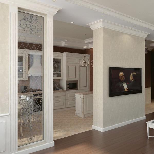 Td for Decorative posts interior