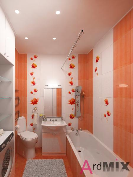 Дизайн ванной комнаты ленпроект