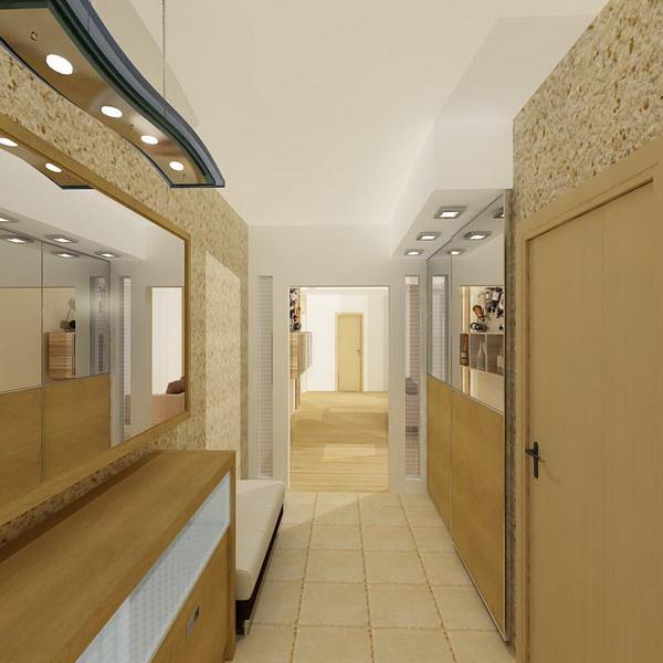Дизайн проект интерьера в европейском стиле с элементами ар деко, 3-х...