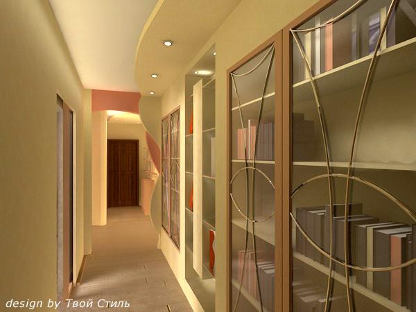 Ремонт узкого длинного коридора своими руками