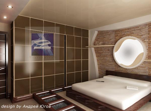 Спальня в современном этническом стиле - Портфолио дизайнеров...