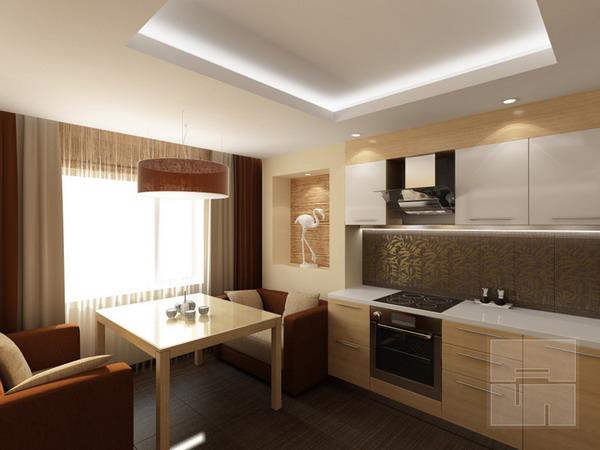 Дизайн квартиры студии 24 кв.м