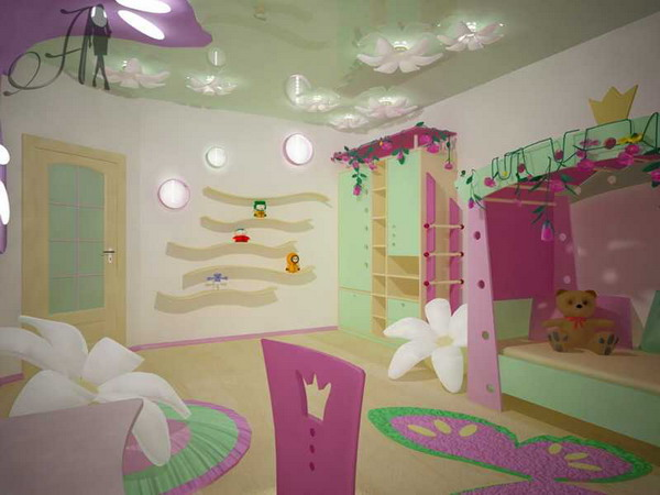 Дизайн интерьеров комнат для двух девочек Детская комната для девочки - лучшие фото дизайна