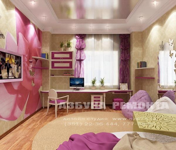 Посмотрите другие проекты комнат для девушек и подростков.