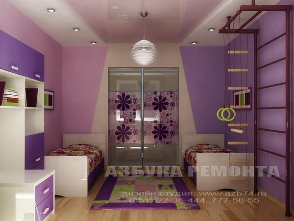 В Современном стиле, 3-х комнатная квартира 57м2 (хрущевка) п.