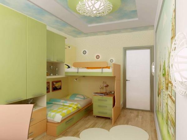 Дизайн детской комнаты 12 м