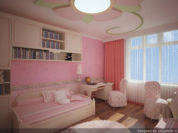 Детская комната для двух девочек 18,9 м. прошу помощи в расс.