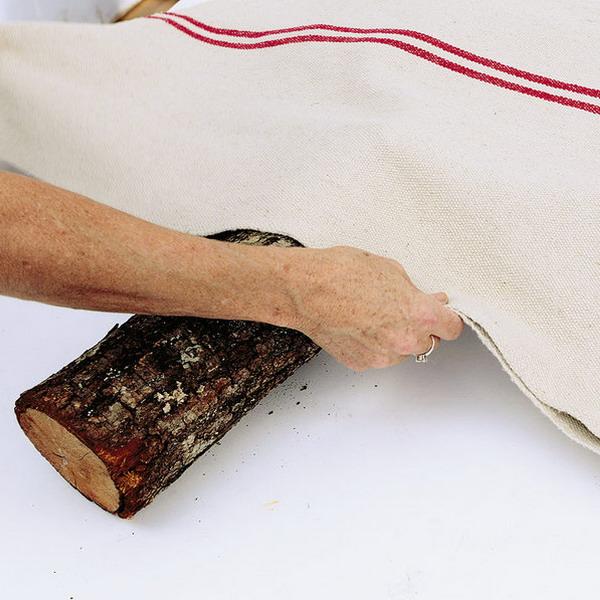 Сделать елочку из ткани своими руками