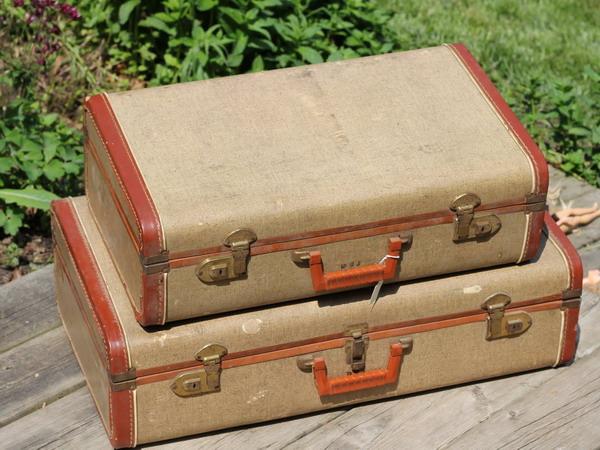 Старый чемодан своими руками мастер класс