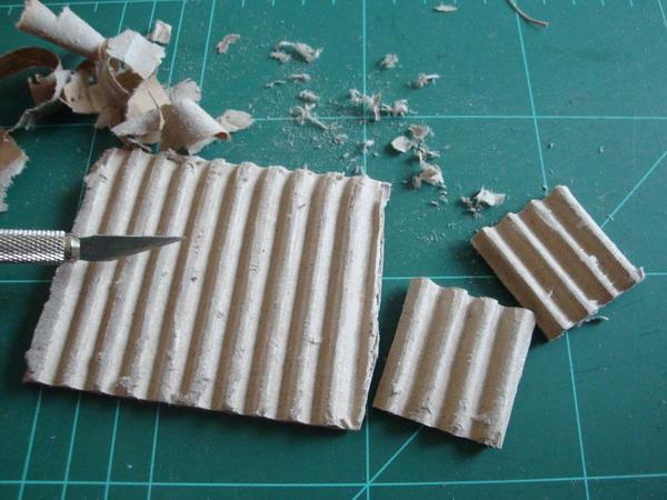 Дрова из картона своими руками 88