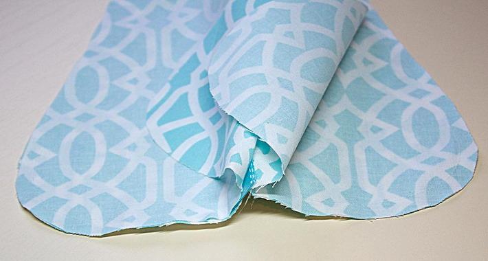 Как сделать подушку для шеи