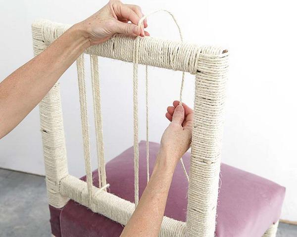 Как обновить старый стул своими руками мастер класс