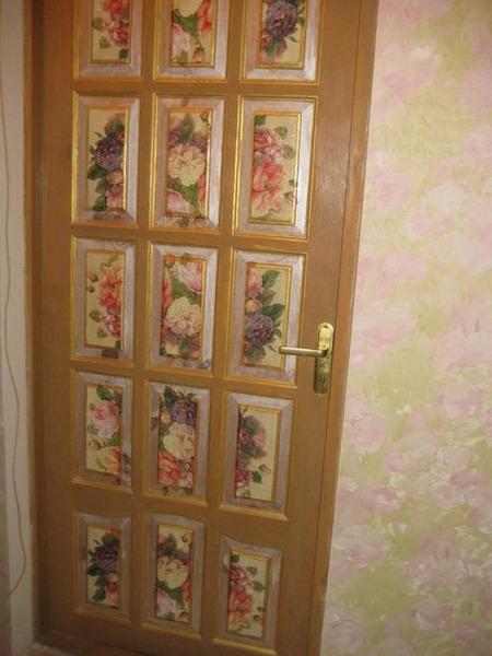 Как реставрировать дверь своими руками
