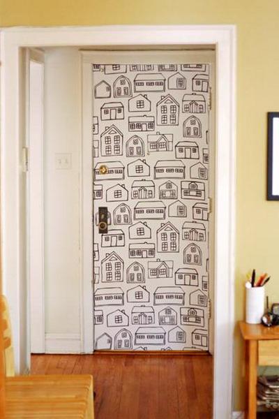 Дизайн межкомнатных дверей своими руками