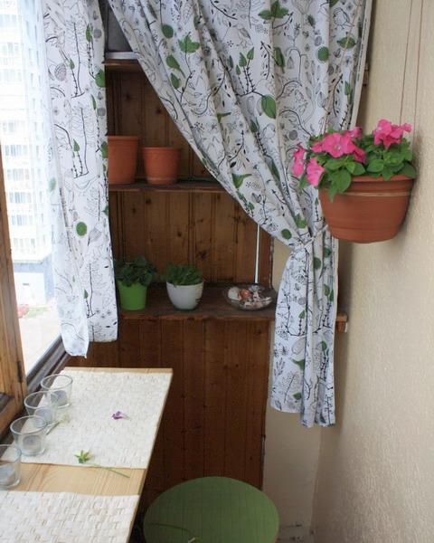 Оформление балконов и лоджий - коллекция фото интересных иде.