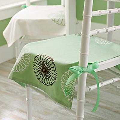 вязания крючком накидки на стулья.