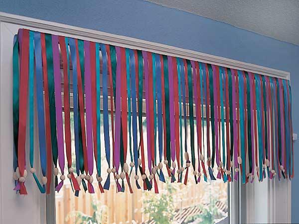 Как декорировать шторы своими руками 22