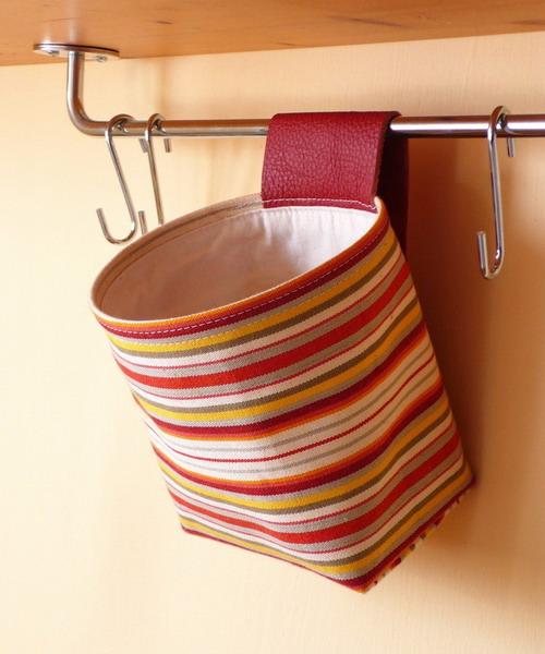 Карманы для мелочей на кухне своими руками