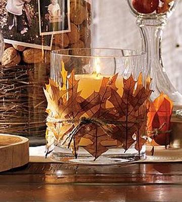 for Autumn leaf decoration