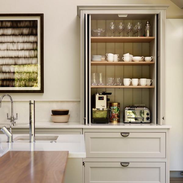 45 - Accordion kitchen cabinet doors ...