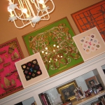 framed-silk-scarves-as-wall-art4-5