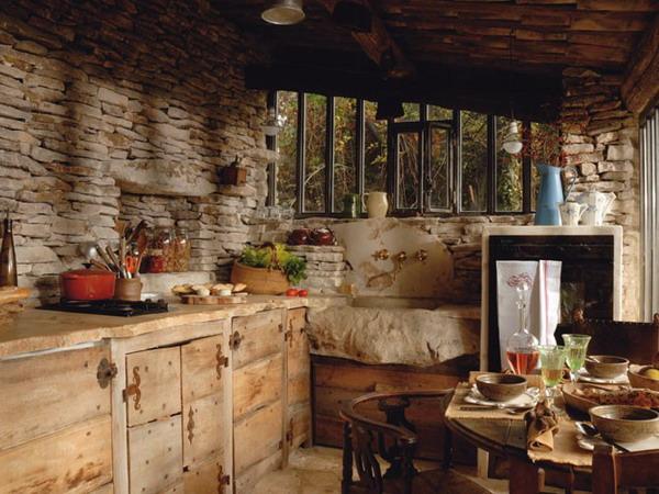 Французский стиль в интерьере кухни цвет Французский стиль фотография...