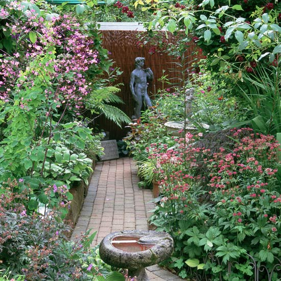 Small Garden With Decked Path And Arbour: Down The Garden Path...... - Homemaking Forum