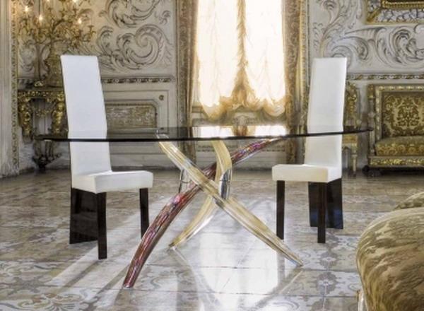 Дизайн столов стеклянных