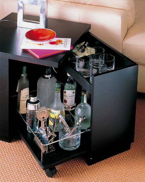 Бар для алкоголя домашний