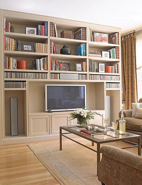Интерьер домашней библиотеки: как создать ее в гостиной - 60.