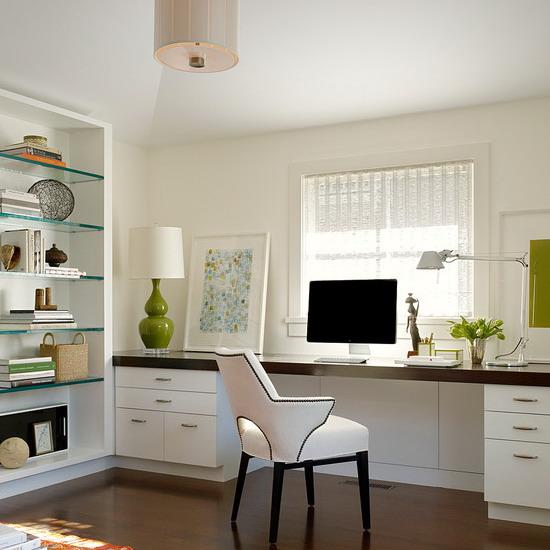 Home Design Ideas Small Front: Домашний офис напротив окна: 57 практичных решений для