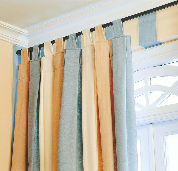 - Diferentes tipos de cortinas ...