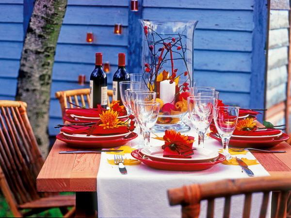 вся праздничный осенний стол на день рождения предложить