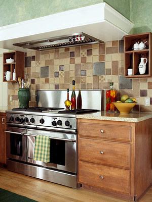 кладка керамической плитки на рабочую панель в кухне - Нужные схемы и описания для всех.