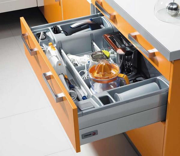 Kitchen Storage Zones: Семь нот комфортной кухни: выпуск 2