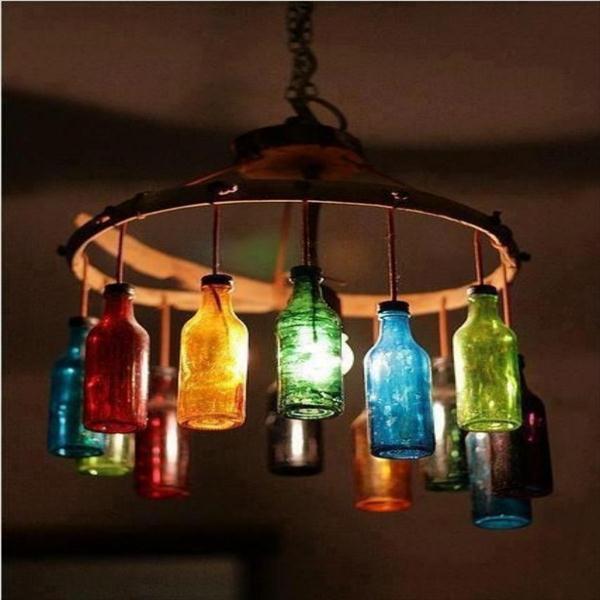 Стеклянный светильник своими руками фото 818