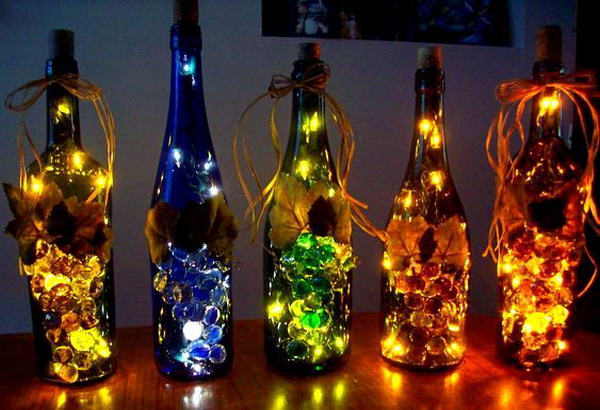 Стеклянный светильник своими руками фото 618