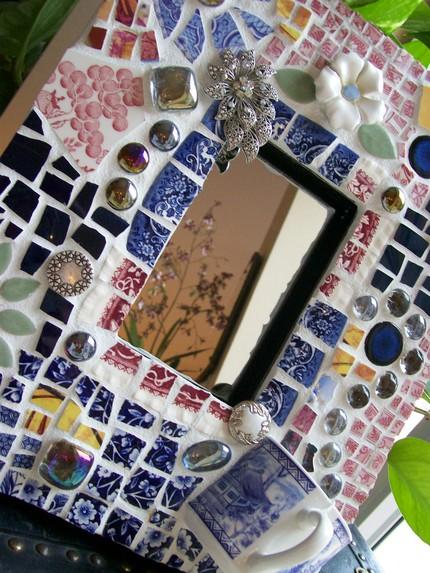 Рамки из мозаики своими руками