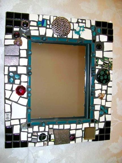 Дизайн рамки зеркала своими руками фото