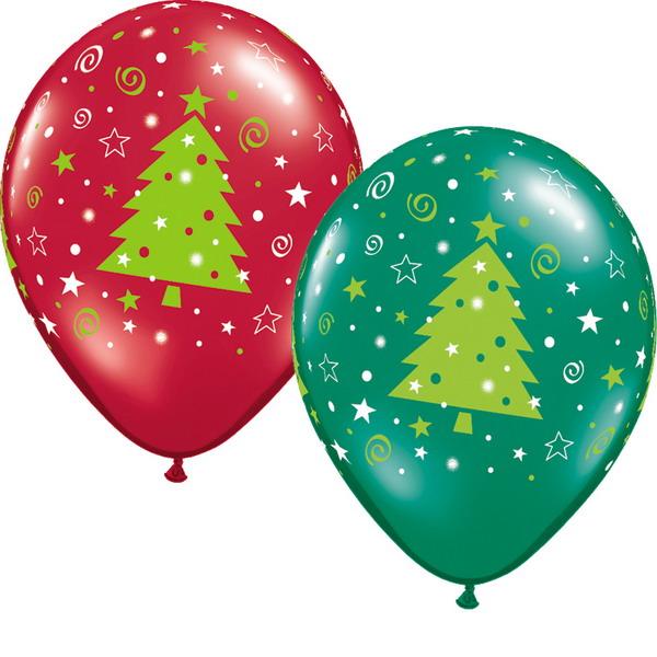 Как украсить деревья на новый год своими