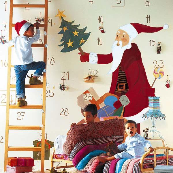 Картинки на стену с новым годом