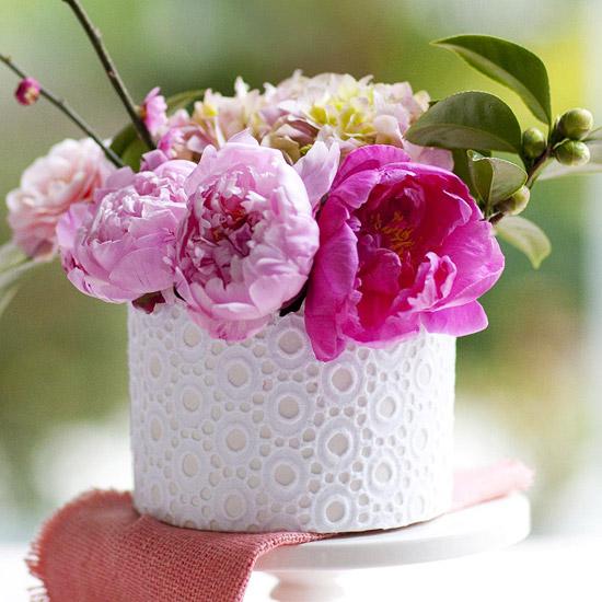 Корзины из цветов своими руками 16