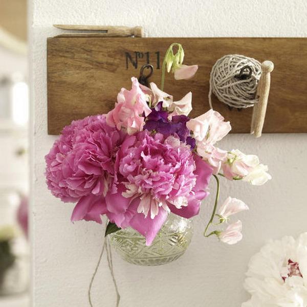 Фото красивых букетов цветов дома