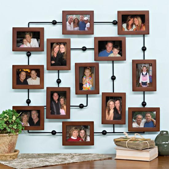 Фотоколлаж своими руками на стену