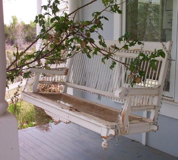 Подвесные диванчики качели для