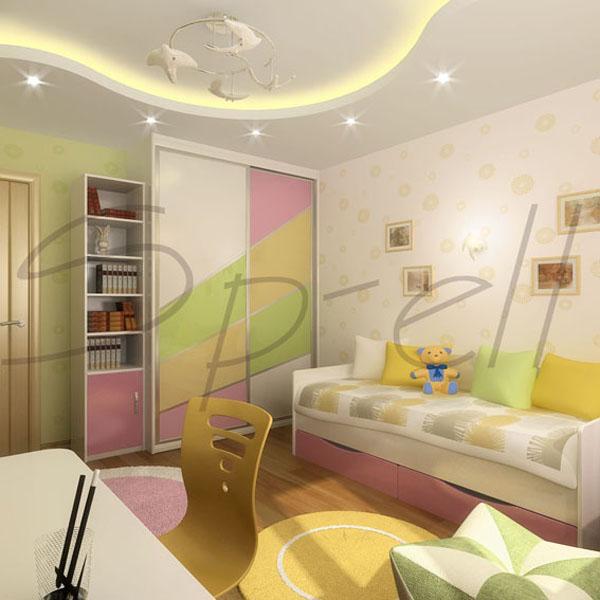 Детская комната для девочки 14 квм дизайн